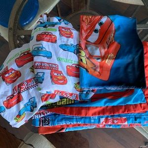 Lightning McQueen toddler bedding set